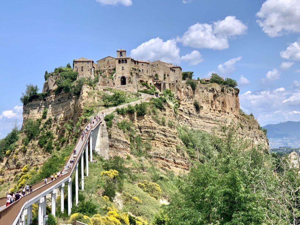 Πανοραμική άποψη της Civita